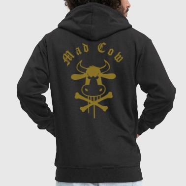 Mad mad_cow - Men's Premium Hooded Jacket