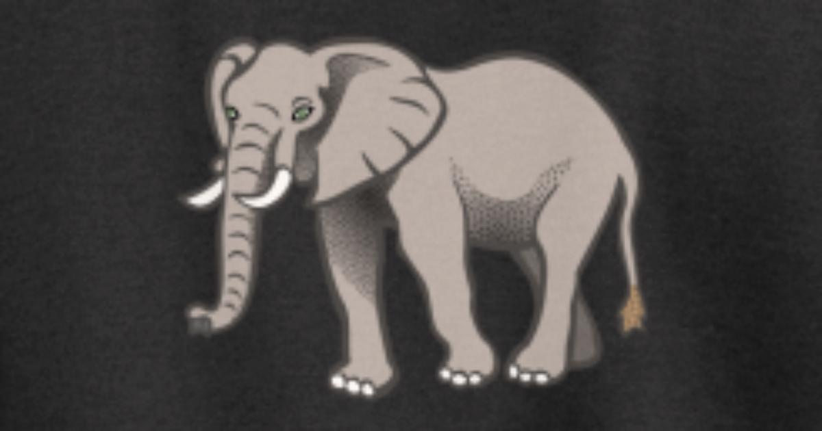 Elefant von EDR the designer | Spreadshirt