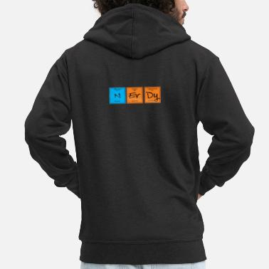 Nerdy nerdy - Men's Premium Hooded Jacket