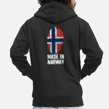 Norge Made In Norge / Norge / Norge / Noreg - Premium-Luvjacka herr