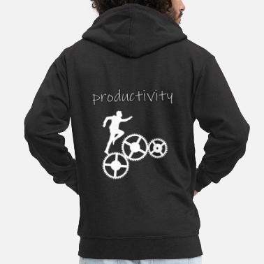 Product productivity - Men's Premium Zip Hoodie