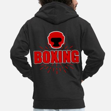 Boxing Match boxing match - Men's Premium Hooded Jacket