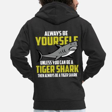 Tiger Shark Tiger Shark - Men's Premium Hooded Jacket