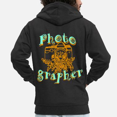 Photograph Photographer Photographing Camera Photograph Photograph - Men's Premium Zip Hoodie