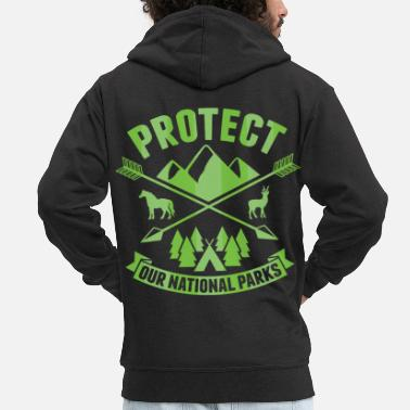 7ab72c86f1b4b7 National Park National Park Protect our National Parks - Men  39 s Premium  Zip. Men s Premium Zip Hoodie