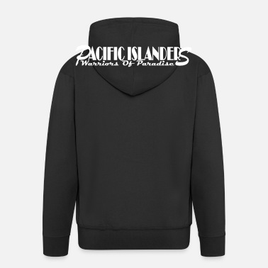 Polynesian Warriors2 - Men's Premium Zip Hoodie
