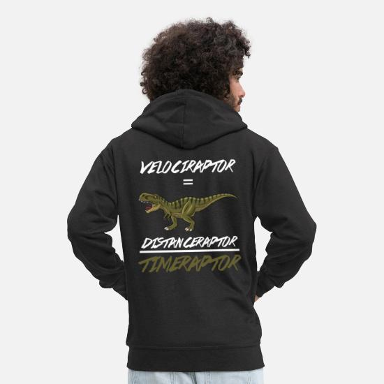 Idée Sweat-shirts - Science Physics Scientist Geometry Gift Velocity - Veste à capuche premium Homme noir
