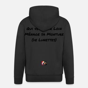 Qui veut voir Loin ménage sa Monture de Lunettes - T-shirt premium ... 04f66457edad