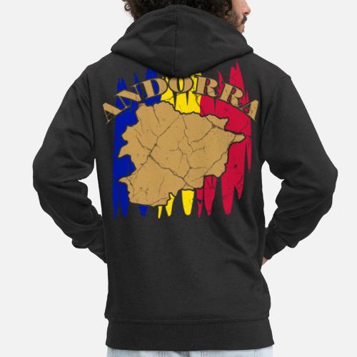 Cadeau De Principaute D Andorre La Vieille Catalan Veste A Capuche
