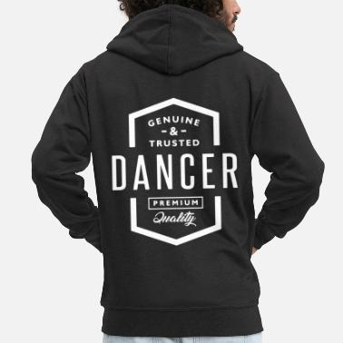 Dance Instructor Dancing dance floor dance sport dancing instructor dancer - Men's Premium Zip Hoodie