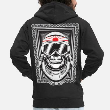 Kamikaze Kamikaze - Men's Premium Hooded Jacket
