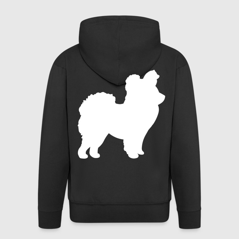 Chow Chow Dog - Men's Premium Hooded Jacket