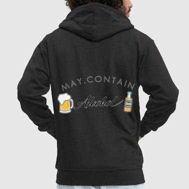 Container My Contain Alcohol - Männer Premium Kapuzenjacke