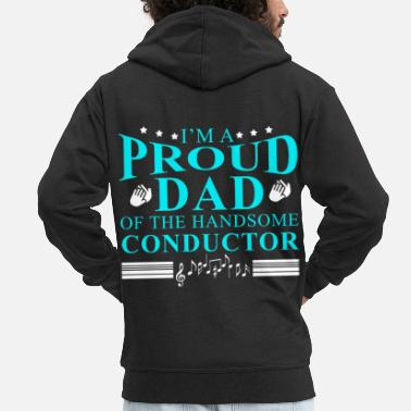 Choir Conductor Maestro Orchestra Choir Conduct Gift - Men's Premium Hooded Jacket