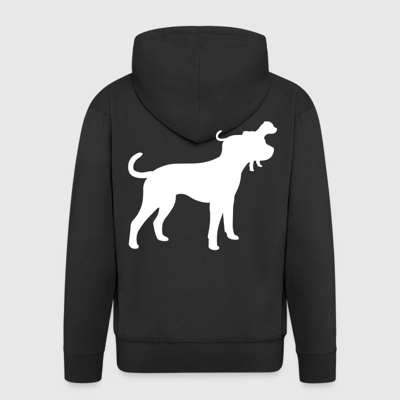 American Bulldog - Men's Premium Hooded Jacket