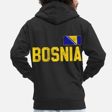 Bosnia Bosnia - Men's Premium Hooded Jacket