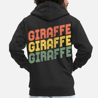 Girafe GIRAFE GIRAFE GIRAFE - Veste à capuche Premium Homme