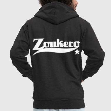 Zoukero Star - Zouk Dance Shirt - Men's Premium Hooded Jacket