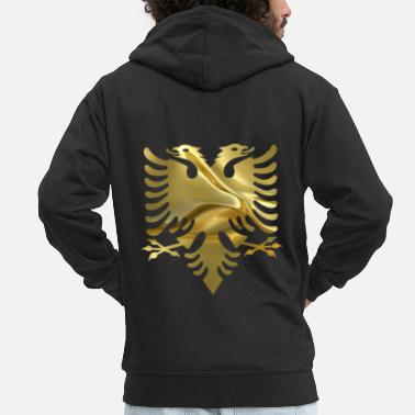 Albania Albania - Men's Premium Hooded Jacket