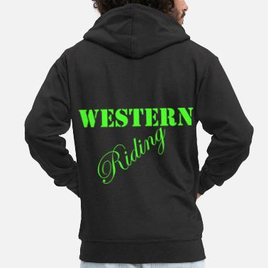 Western Riding Western Riding - Men's Premium Hooded Jacket