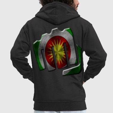 Kurdistan - Men's Premium Hooded Jacket