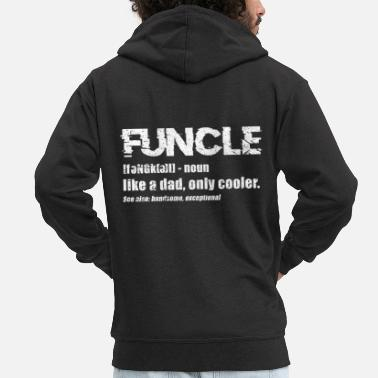 Uncle uncle - Men's Premium Hooded Jacket
