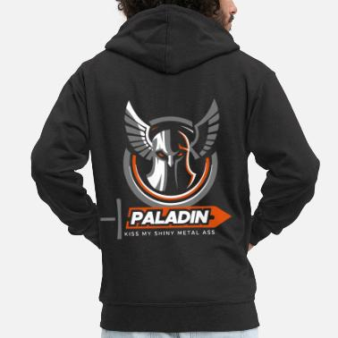 Rpg rpg paladin - Men's Premium Hooded Jacket