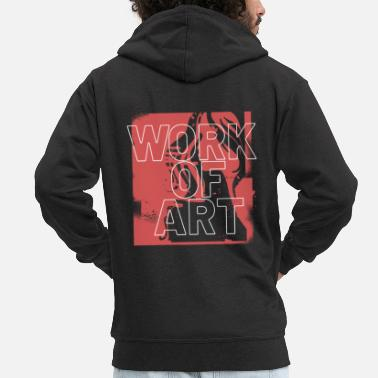 Artwork Artwork - Men's Premium Zip Hoodie