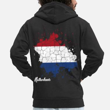 Netherlands Netherlands - Men's Premium Hooded Jacket