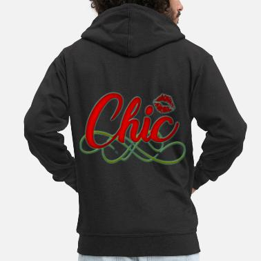 Chic Chic - Men's Premium Hooded Jacket