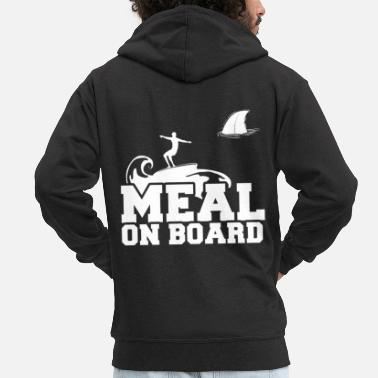 Meal Meal on board - Men's Premium Zip Hoodie