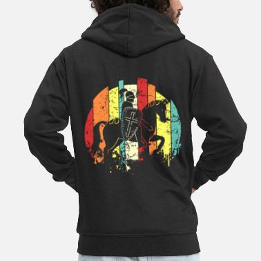 Middle Ages middle Ages - Men's Premium Zip Hoodie