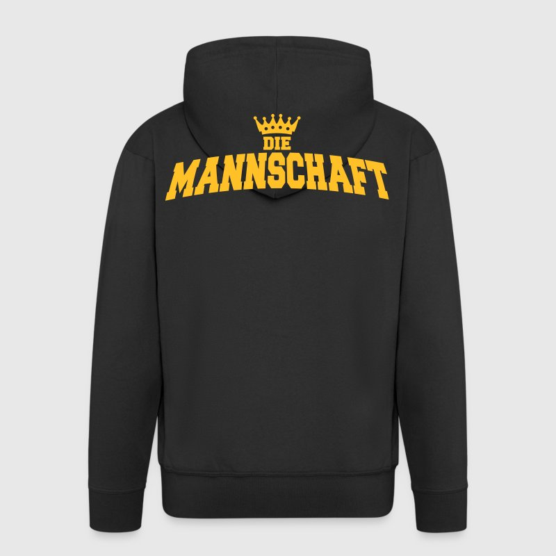 die mannschaft with crown - Veste à capuche Premium Homme