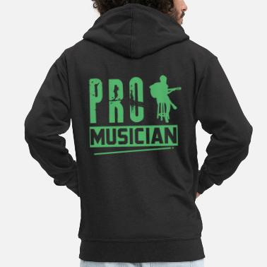 Music-lesson Music Lessons Music Music Teachers Musicians Musiki - Men's Premium Zip Hoodie