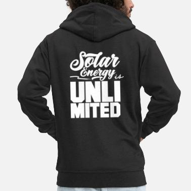 Prendre Énergie solaire énergie solaire énergie solaire énergie solaire - Veste à capuche premium Homme