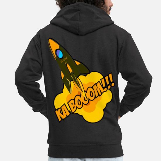 ShirtMänner Kaboom Rakete Boom Geburtstag Premium Geschenk xrdoBWCe