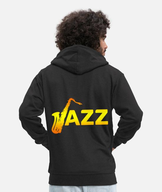 Composer Hoodies & Sweatshirts - jazz - Men's Premium Zip Hoodie black