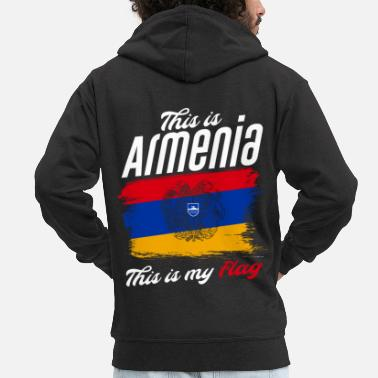 Armenia This is Armenia: this is my flag - Men's Premium Hooded Jacket