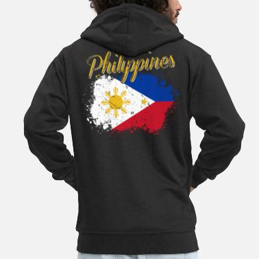 Filipino Philippines Filipino - Men's Premium Hooded Jacket