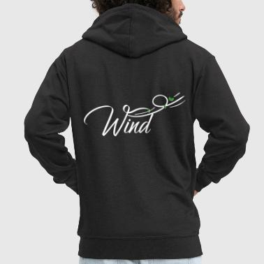 Wind wind - Men's Premium Hooded Jacket