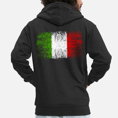 Italian Italy 002 AllroundDesigns - Men's Premium Hooded Jacket