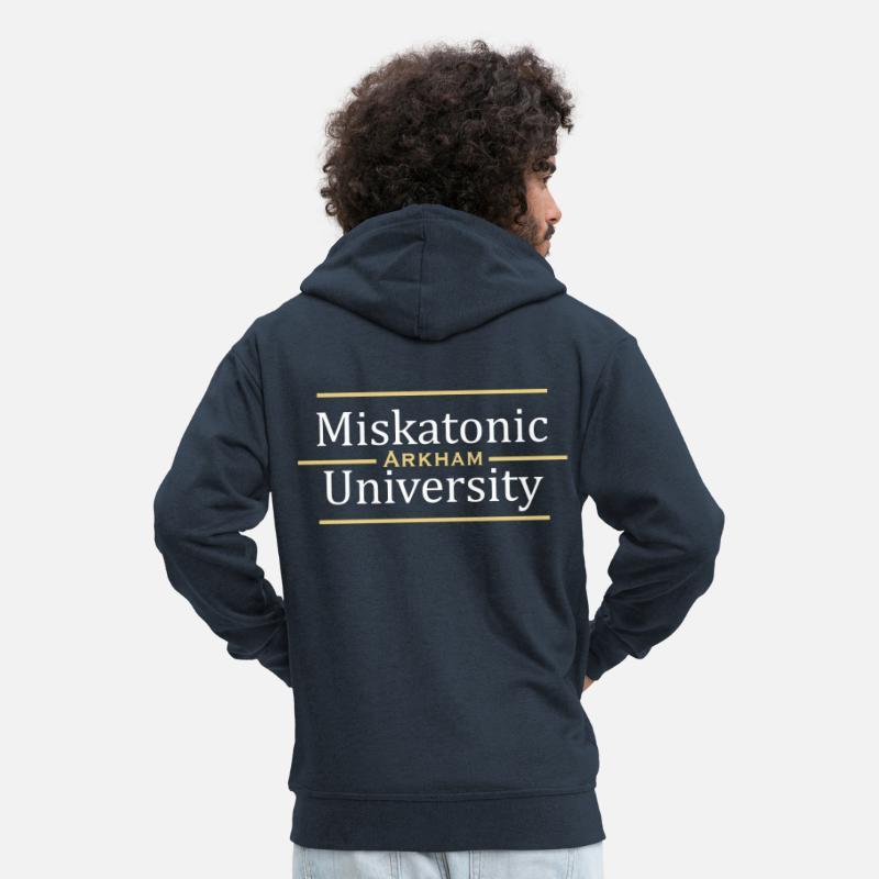 miskatonic college jacke
