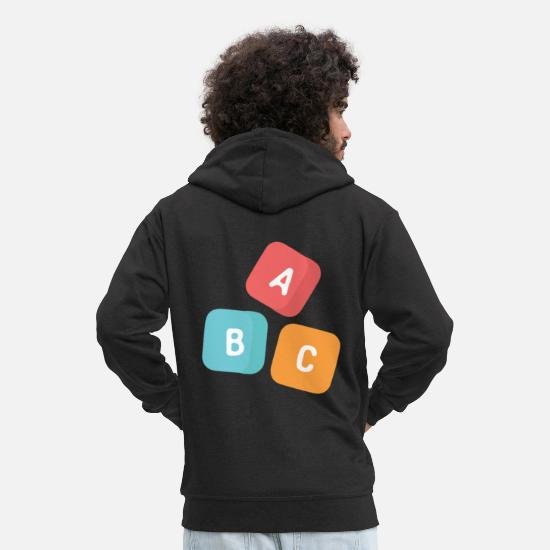Kindergarten Hoodies & Sweatshirts - kindergarten - Men's Premium Zip Hoodie black