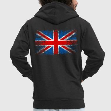 Great Britain 002 AllroundDesigns - Men's Premium Hooded Jacket