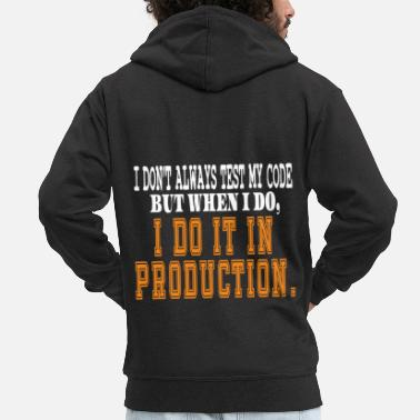 Cyberpunk Hilarious quotes Tee for nerdy geeks, Coder, - Men's Premium Hooded Jacket