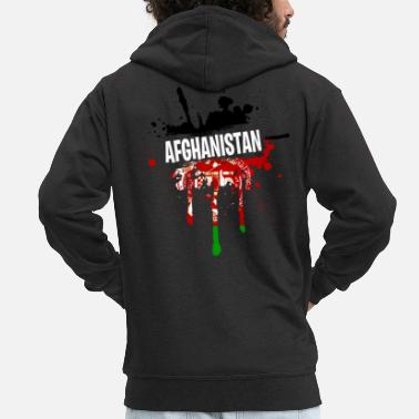 Afghanistan Good Afghanistan Tea Men - Men's Premium Hooded Jacket