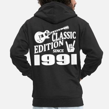 1991 Classic edition since 1991 - Men's Premium Hooded Jacket