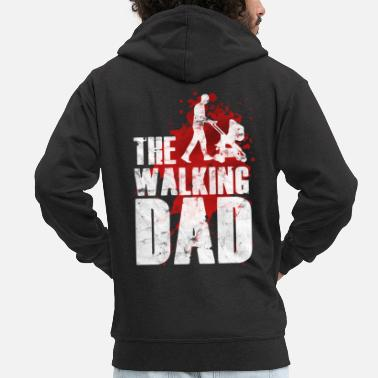 Walking Dad The Walking Dad - Männer Premium Kapuzenjacke