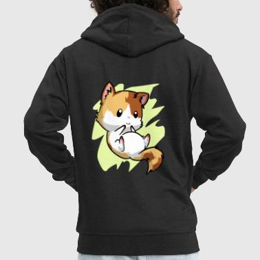 pussycat - Men's Premium Hooded Jacket