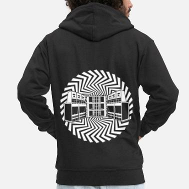 Party Free tekno soundsystem 23 - Men's Premium Zip Hoodie
